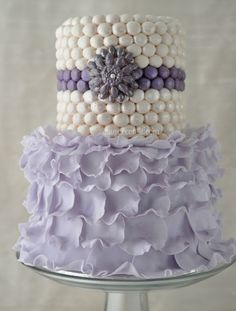 Ruffles & Pearls - A Mother's Day Cake