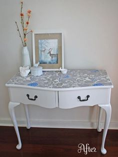 wallpapered desk top