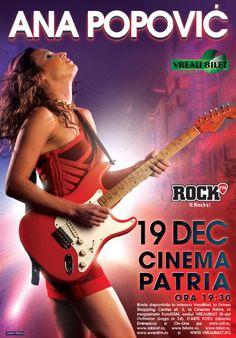 Sambata, 19 Decembrie 2015, ora 19:30, Cinema Patria, Bucuresti 23 Mai, Ebay Search, Blues Music, Blues Rock, Concert Posters, Music Is Life, Rock Music, Theater, Cinema