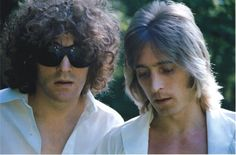 Mick Ronson And Ian Hunter Ian Hunter, Mott The Hoople, Mick Ronson, Marc Bolan, Weak In The Knees, Love Me Forever, Ziggy Stardust, Glam Rock, David Bowie