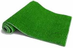 An inexpensive astroturf runner adds to the fun at a Superbowl party or sports themed birthday party.  You can find at your local Home Depot.