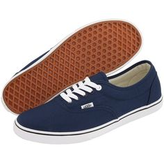 Vans LPE (Navy/True White) Skate Shoes (33 CAD) ❤ liked on Polyvore featuring shoes, sneakers, navy, navy blue shoes, white sneakers, slim shoes, white trainers and vans sneakers