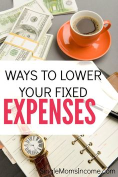 When you lower your recurring bills you free up room in your budget and reap the benefits all year long. Here are ways to lower your fixed expenses. http://singlemomsincome.com/ways-lower-fixed-expenses/