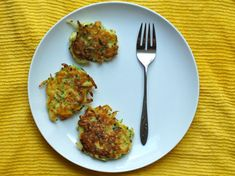 Mmmmmm, as much as I love potato pancakes this will be a must try this summer with the garden fresh zucchini!