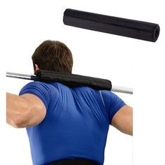 Barbell Pad Gel Supports Squat Bar Weight Lifting Pull Up Gripper Supporter black~ Weight Lifting, Weight Training, Black Tees, Nylons, Wellness Fitness, Barbell, St Kitts And Nevis, Squats, Coaching