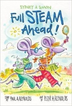 Sydney and Simon are twin mice on a mission to save the wilting flowers in their window box. During a humid heat wave, their window got stuck, and now they can't open it to water their blossoms before the neighborhood flower show. This playful story underscores how the characters use STEAM (Science, Technology, Engineering, Arts, and Math) to learn about the water cycle on earth and in the home and, ultimately, to rescue their flowers! (Pre order now for only $12.95!)