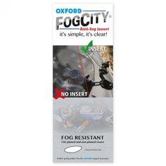 OXFORD FogCity Antifog Insert