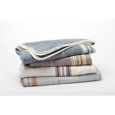 Coyuchi Rustic Linen Blanket | Wayfair