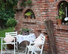 Dekoration im Garten - Dekotina