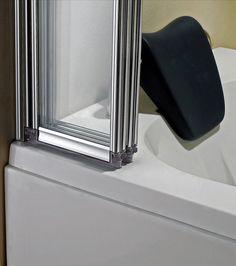4 Folds and 5 Folds Chrome Folding Bath Shower Screen Door Panel | eBay