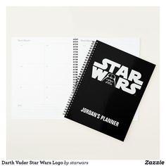 Darth Vader Star Wars Logo Planner Vader Star Wars, Darth Vader, Thing 1, Star Wars Gifts, Anniversary Quotes, Paper Cover, Love Messages, Christmas Card Holders, Hand Sanitizer