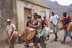 Drummers in São Nicolau Cabo Verde