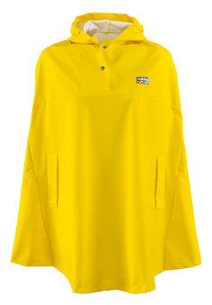 Rukka of Finland Kids Waterproof Rain Cape Yellow