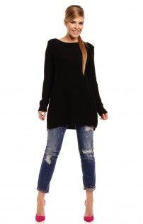 Bebe czarny sweter