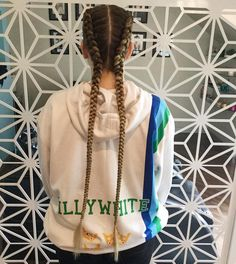 Two side braids Tag a friend that would love this  Hair by @zedz_hair_beauty