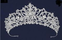 Just gorgeous! Ornate Crystal and Rhinestone Wedding Tiara - Affordable Elegance Bridal -