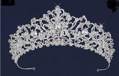Just gorgeous! Ornate Crystal and Rhinestone Wedding Tiara - Affordable Elegance Bridal -