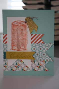 This card offers a simple but creative way to use elements from our 2013 Sale-a-bration offering. Love the layout!