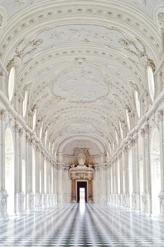 Venaria Reale Royale Castle, Turin, Italy: