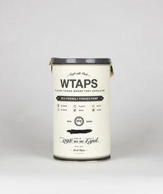 WTAPS Powder Paint (Student Project)