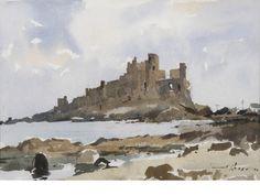 Edward Wesson, R.I., R.B.A., R.S.M.A. (British, 1910-1983) St Michael's Mount