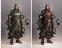 Lord of the Rings online, por Massive Black | THECAB - The Concept Art Blog