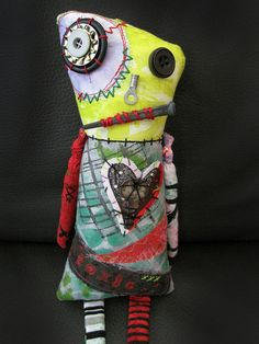 Zombie Art Doll Monster Doll Creepy Cute Halloween