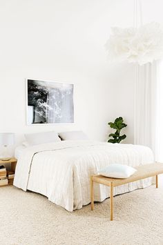 12 of the best white bedrooms. Styling by Jason Grant. Photography by Lauren Bamford.