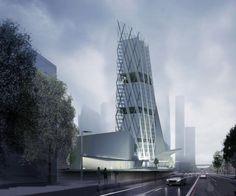 Business Center. Almaty, Kazakhstan
