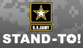 Today's Focus: Happy 238th Birthday, U.S. Army! .  (STAND-TO!: The official focus of the U.S. Army)