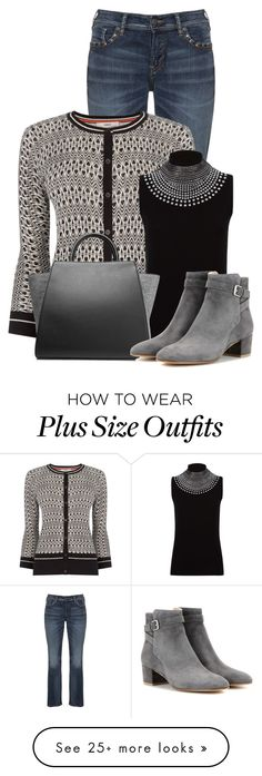 """""""Untitled #14161"""" by nanette-253 on Polyvore featuring Silver Jeans Co., Oasis, Harrods, ZAC Zac Posen, Gianvito Rossi, women's clothing, women's fashion, women, female and woman"""