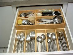 doubledeck cuttlery drawer