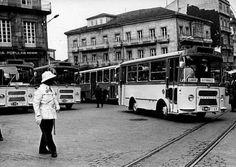 En el mes de julio de 1968 los autobuses de Vitrasa se estrenaron por las calles de Vigo.
