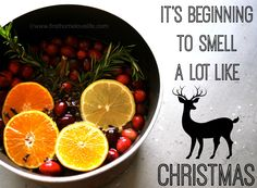 Hey - a twist on what I already do around the Holidays - and this one is even better! Love this, and will try it (beginning the day after Thanksgiving!) :)