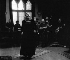 Adele performing at 'The Church Studios' (2015)