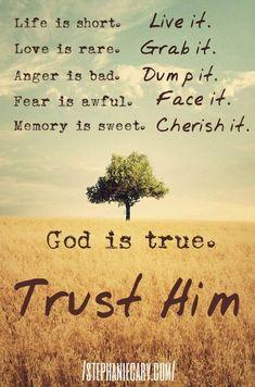 #lifeIsShort #cherisheverymoment #GodIsTrue #TrustGod