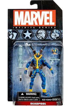 Marvel Infinite Series 3 [2015] - Deadpool [Blue X-Men Costume] Action Figure