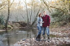 A Romantic Fall Forest Engagement Fall Engagement, Engagement Couple, Engagement Pictures, Engagement Shoots, Winter Pictures, Couple Pictures, Fall Pics, Couple Photography, Engagement Photography