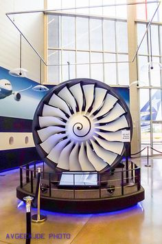 The Rolls Royce Trent 1000 high bypass turbofan engine that power the B787 Dreamliner.