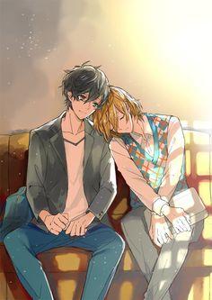Persona 5 Goro, Persona 5 Anime, Goro Akechi, Akira Kurusu, Your Lie In April, Light Of My Life, Akita, Wicca, Cute Pictures