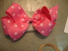 How to make hair bows tutorials...totally going to make these for my niece!
