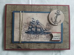 Open the sea stampin'up