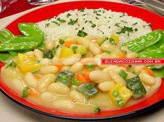 Receita de Feijão com legumes