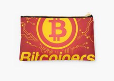 Creative Bitcoin Network by Gordon White   Studio Pouch Available @redbubble  ---------------------------  #redbubble #bitcoin #btc #sticker #studiopouch #pouch #bag  ---------------------------  https://www.redbubble.com/people/big-bang-theory/works/25889584-creative-bitcoin-network?asc=u&p=pouch&rel=carousel