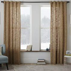 Crossweave Curtain - Flax | $69 - $99