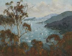 FRANK H. SPEARS (c1920-1987) Pittwater 1975 oil on canvas