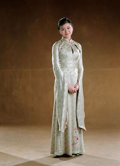 Cho Chang (Katie Lueng) going to the Yule Ball in Harry Potter and the Goblet of Fire