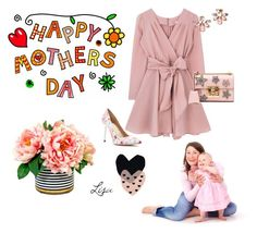 """""""Happy Mother's Day!"""" by coolmommy44 ❤ liked on Polyvore featuring GUESS by Marciano, Gucci, Marchesa and Seventy Tree"""
