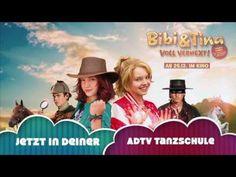 """ADTV-Choreographie zum Bibi & Tina - Song """"Ich bleib hier"""" - YouTube"""