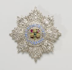 Star of the Order of St Patrick, c. 1838, Rundell, Bridge & Co., commissioned by Queen Victoria.